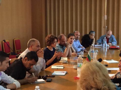 Study visit of a Turkish delegation in Bulgaria