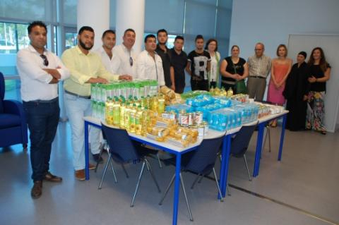 Food collection organised by the CAG and the Philadelphia Evangelical Church. Copyrights: Torres Vedras Municipality